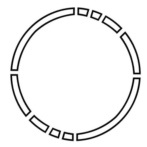 500x500 Simple Circle Tattoo Tattoo Design 1 Simple Broken Get