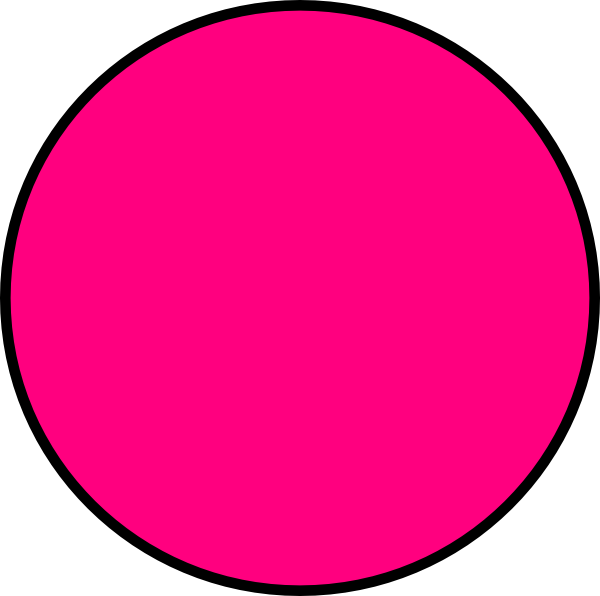 600x596 Pink Circle Clip Art