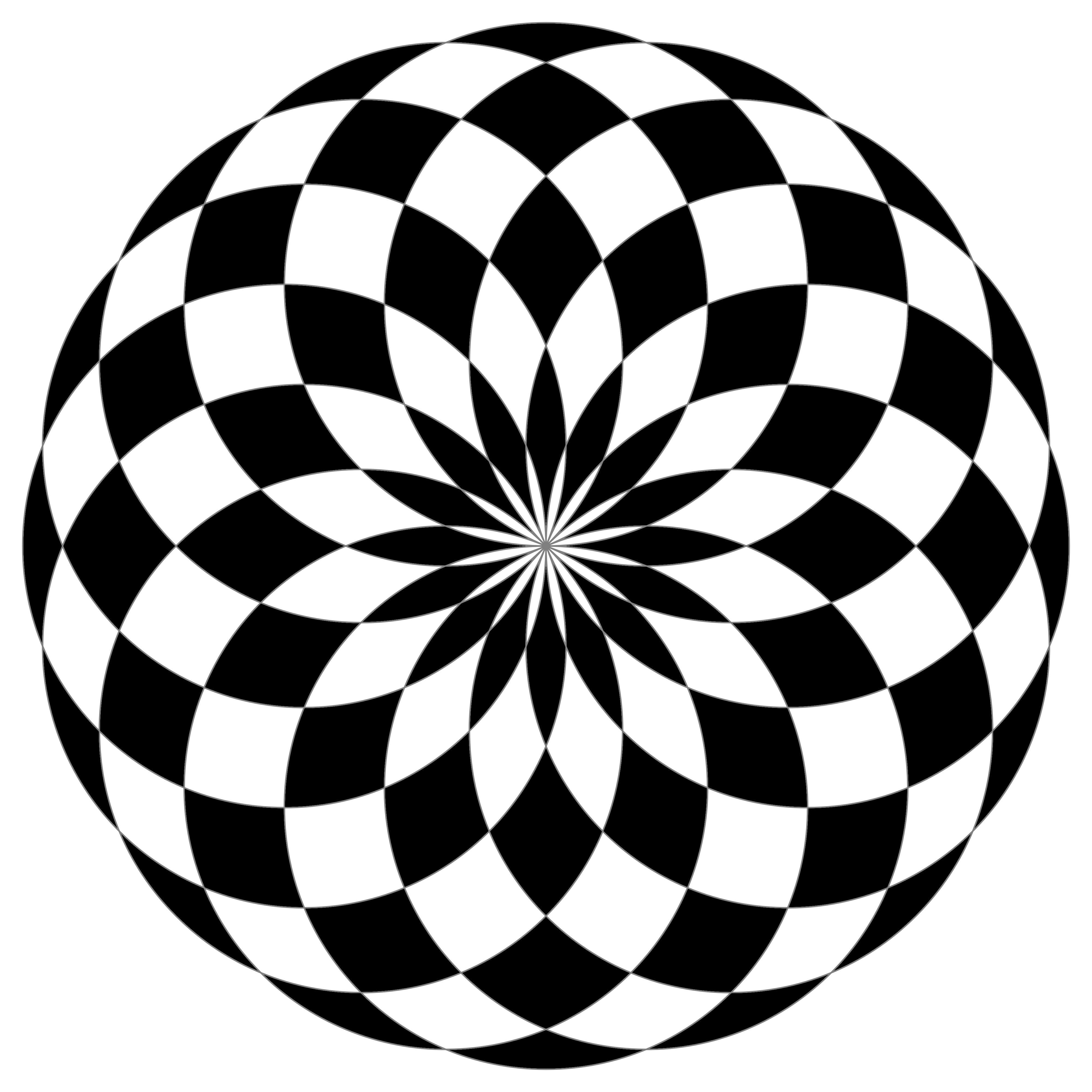 4000x4000 Black Circle Clipart
