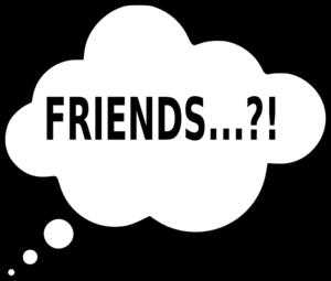 300x255 Friends Clip Art