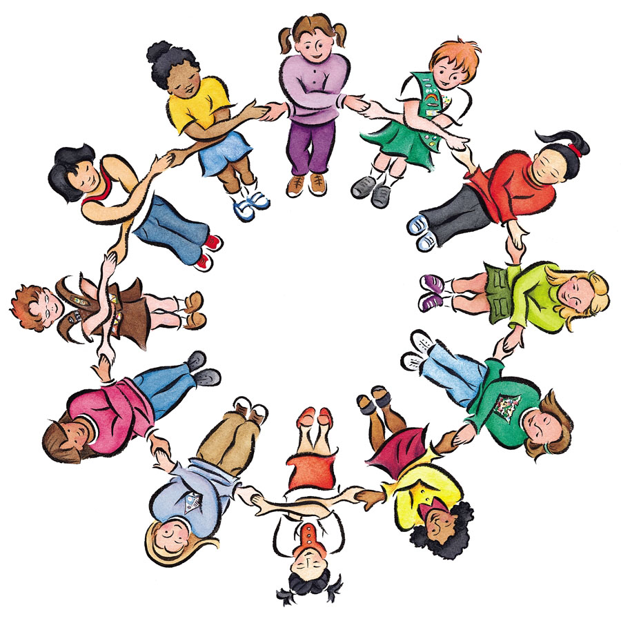 900x900 Friendship Circle Of Friends Clipart 2
