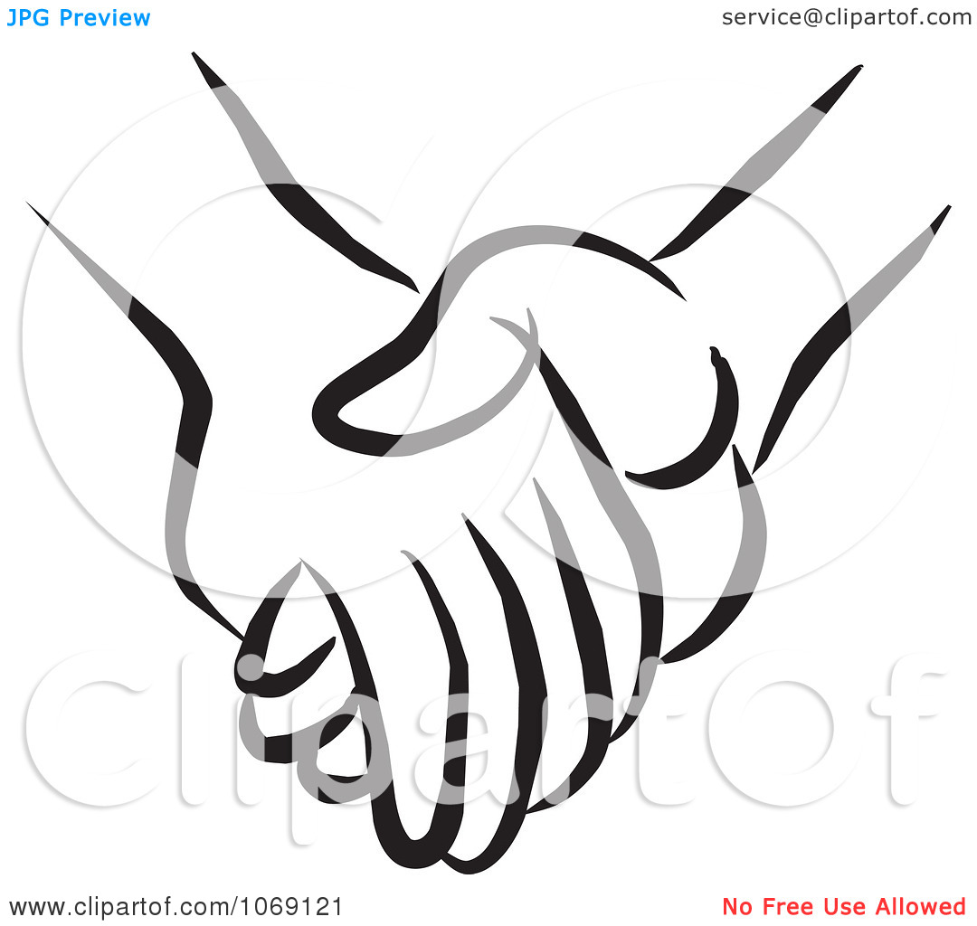 1080x1024 Holding Hands Clipart