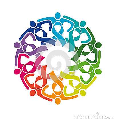 400x421 Life Strong Circle Of Friends Ribbons Community Logo