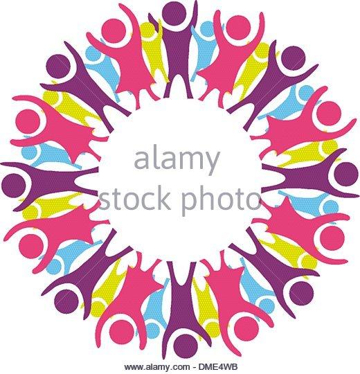 520x540 Circle Of Children Silhouette Stock Photos Amp Circle Of Children