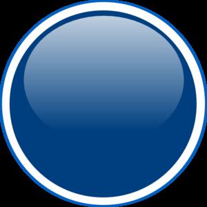 300x300 Glossy Blue Circle Button Clip Art