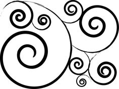 236x177 Circle Swirl Clipart