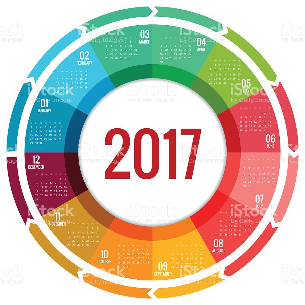 1024x1024 Circle Clipart Calendar