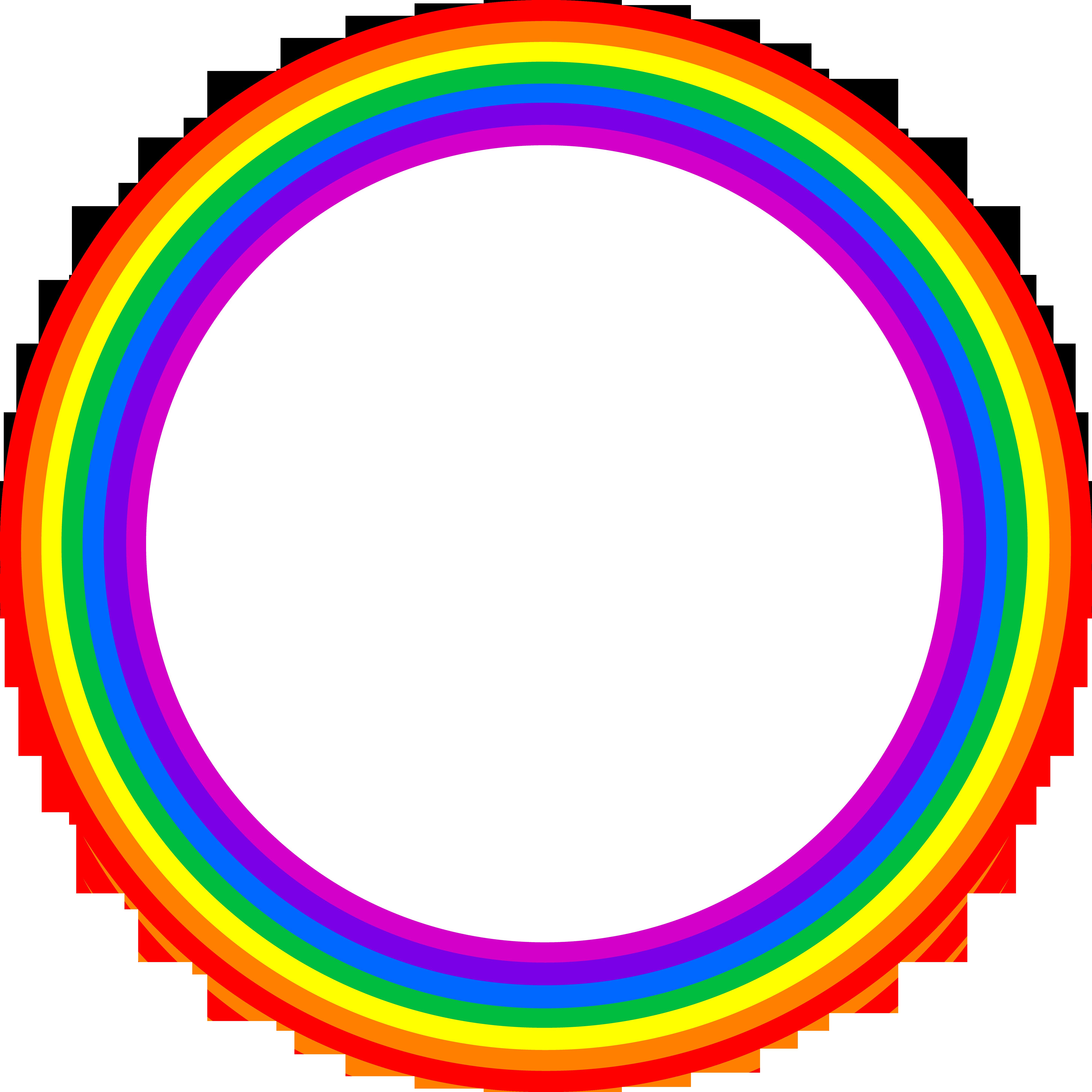 5816x5816 Full Circle Rainbow