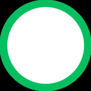 300x300 Green Circle Clip Art
