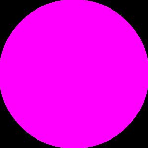 300x300 Pink Circle Clip Art
