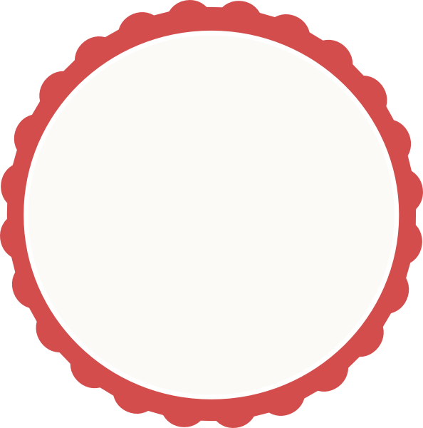 594x600 Red Circle Frame Clipart