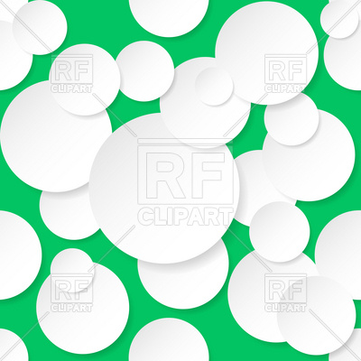 400x400 Seamless texture with circles Royalty Free Vector Clip Art Image