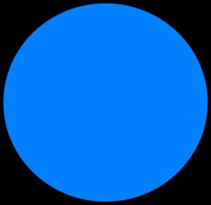 299x291 Blue Circle Clip Art