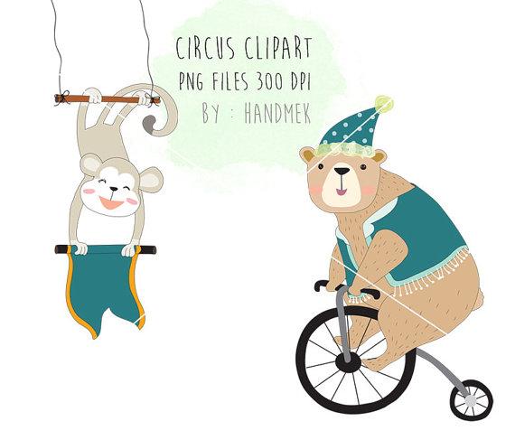 570x487 Circus Animals Clipart Cute Circus Png File 300 Dpi