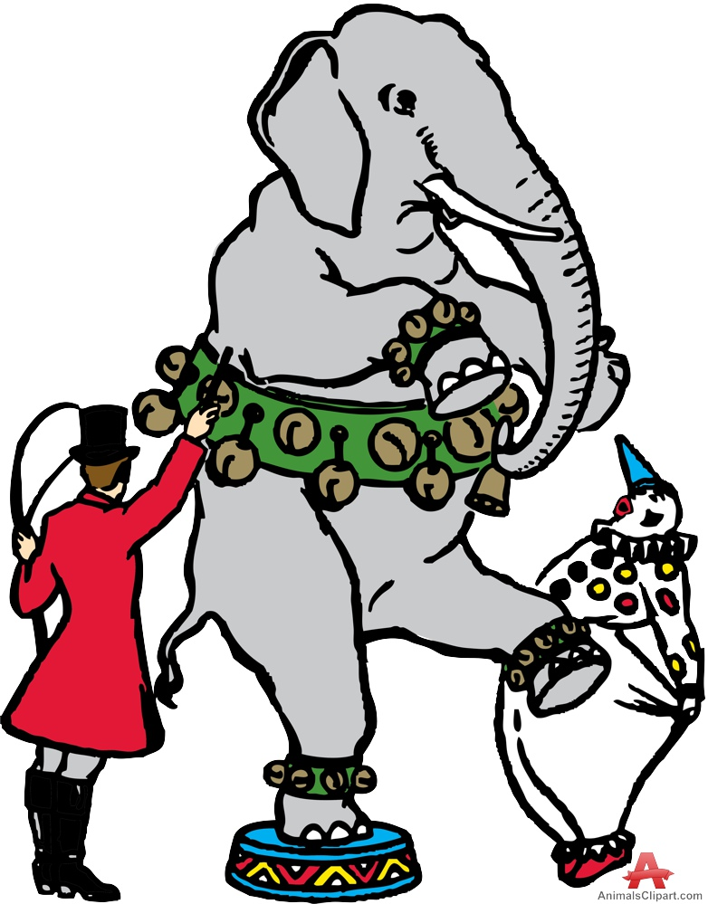 782x999 Circus Elephant Clipart Free Clipart Design Download