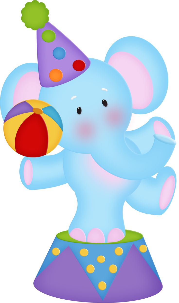 736x1241 Circus Clipart Themed