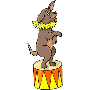 300x300 Circus Clipart Circus Dog