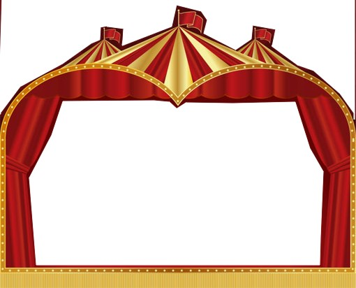 510x412 Free Circus Clipart Border Image