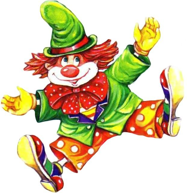 Circus Clown Clipart