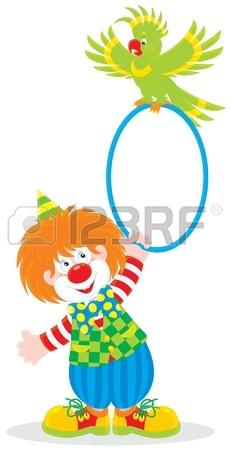 230x450 Circus Clown Juggler Royalty Free Cliparts, Vectors, And Stock