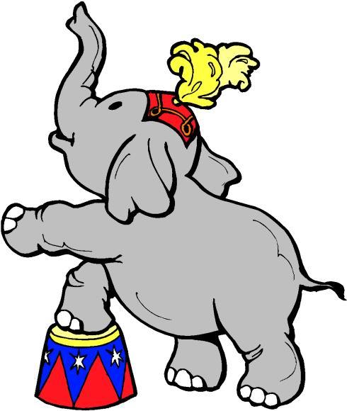 490x580 Circus Elephant Clip Art Clipart