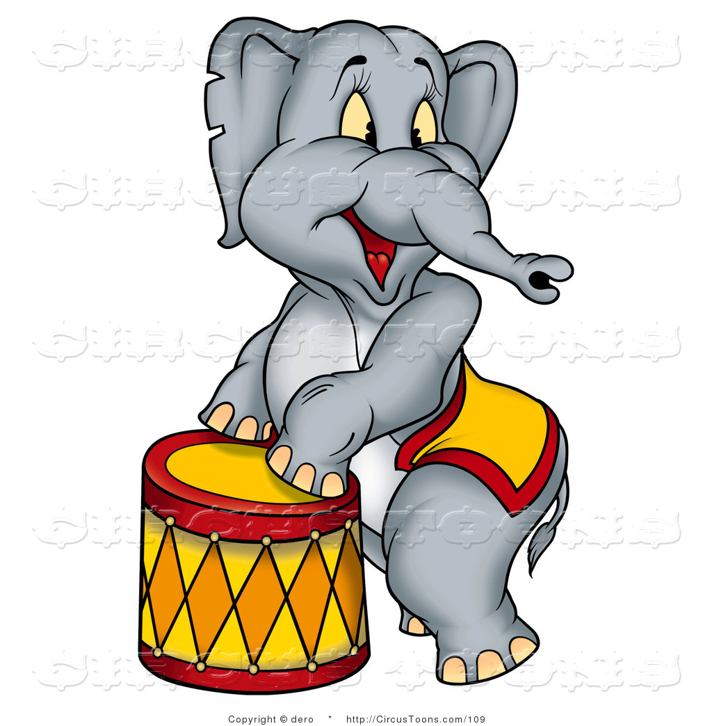 1024x1044 Circus Elephant Clipart