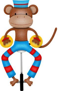236x373 Circus Monkey Clipart