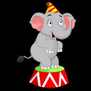 320x320 Circus Clipart Baby Elephant