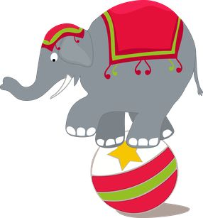 286x307 Circus Clipart Circus Elephant