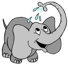 225x214 Clipart Of Elephants