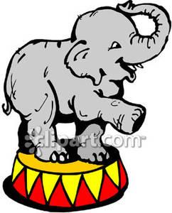 242x300 Elephant Clipart Circus