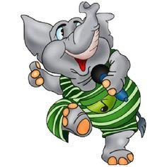 236x236 Funny Cartoon Clip Art Funny Cartoon Elephant Clipart 4.png
