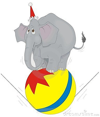 385x450 Circus Elephant 8229778.jpg Clipart Panda