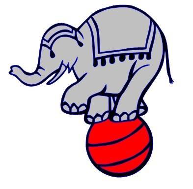 393x384 39 Best Circus Elephant Images Children, Elephants