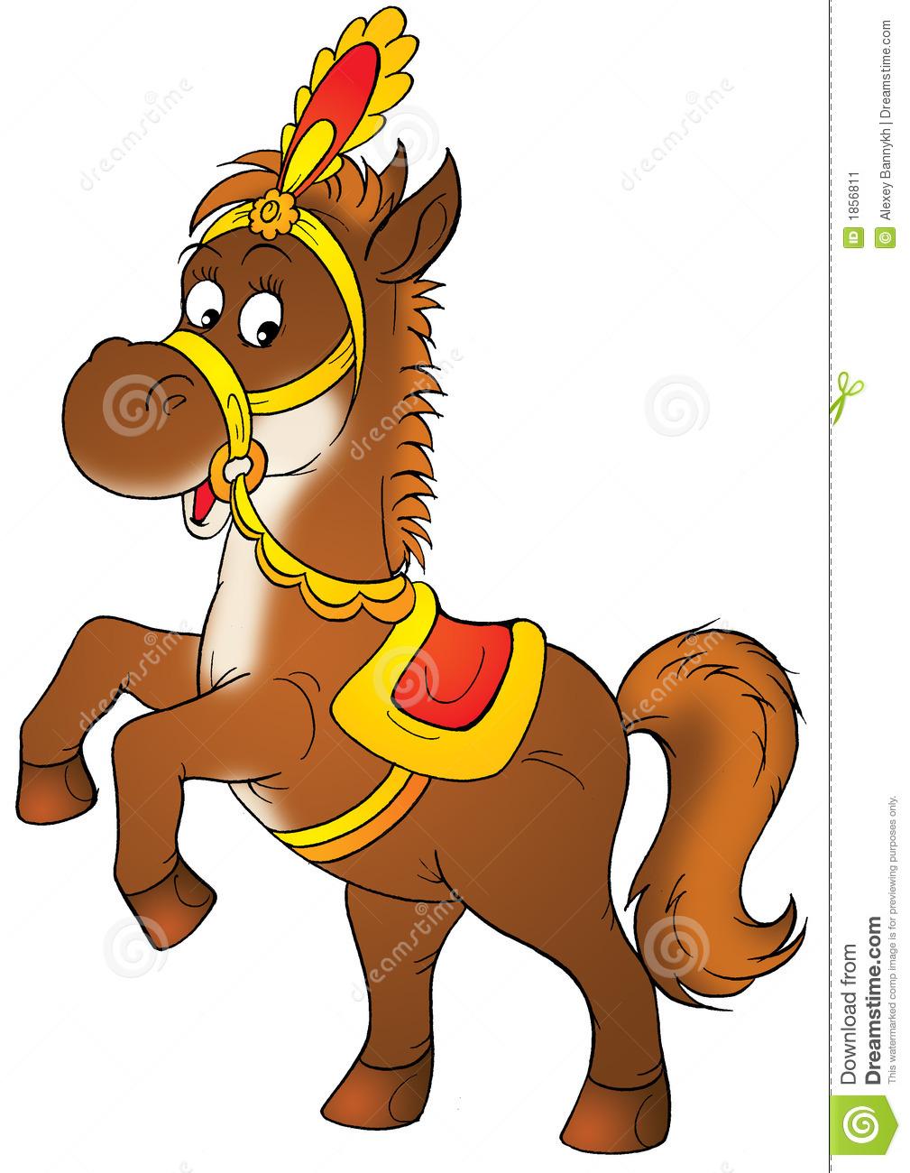 1009x1300 Circus Horse Clipart