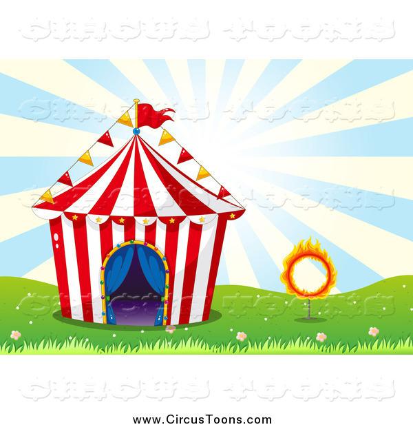 600x620 Big Top Circus Tent Clipart