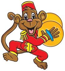 210x230 Circus Clipart Circus Monkey