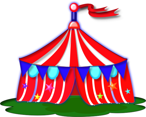 568x456 Free Circus Clipart Image