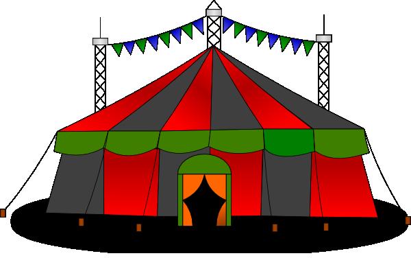 600x376 Circus Clip Art
