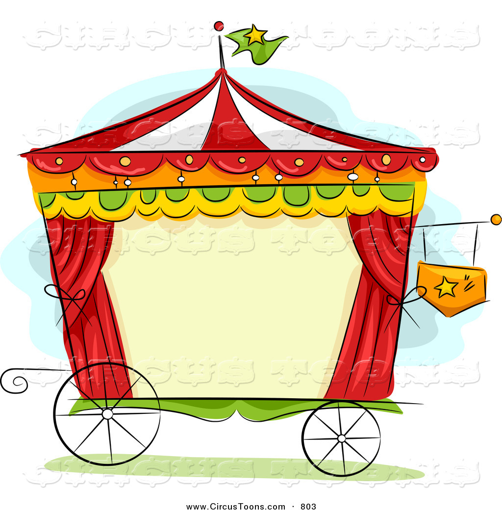 1024x1044 Circus Clipart Of A Wagon Frame By Bnp Design Studio