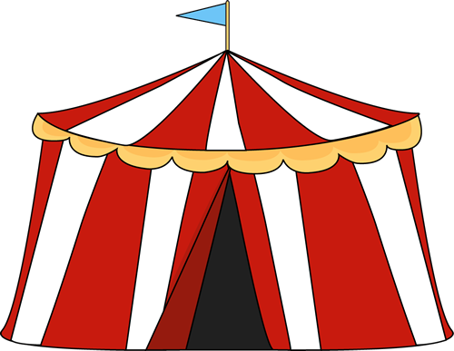 500x387 Free Circus Clip Art