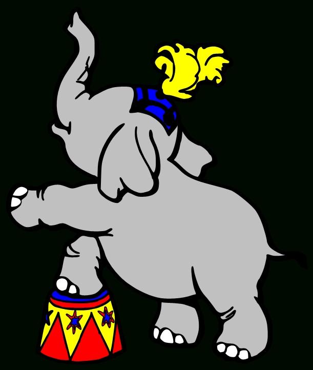 611x722 Circus Elephant Clip Art Clipart Panda