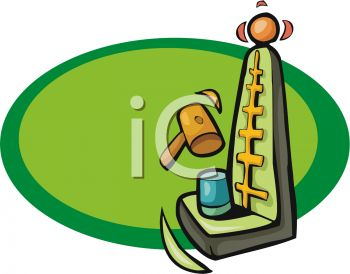 350x274 Hammer Game Clipart