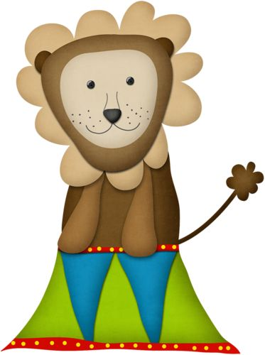 Circus Lion Clipart