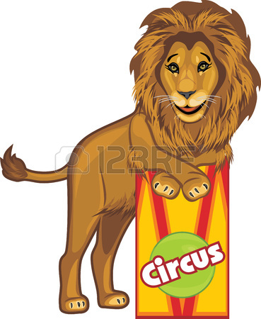369x450 Circus Lion Royalty Free Cliparts, Vectors, And Stock Illustration