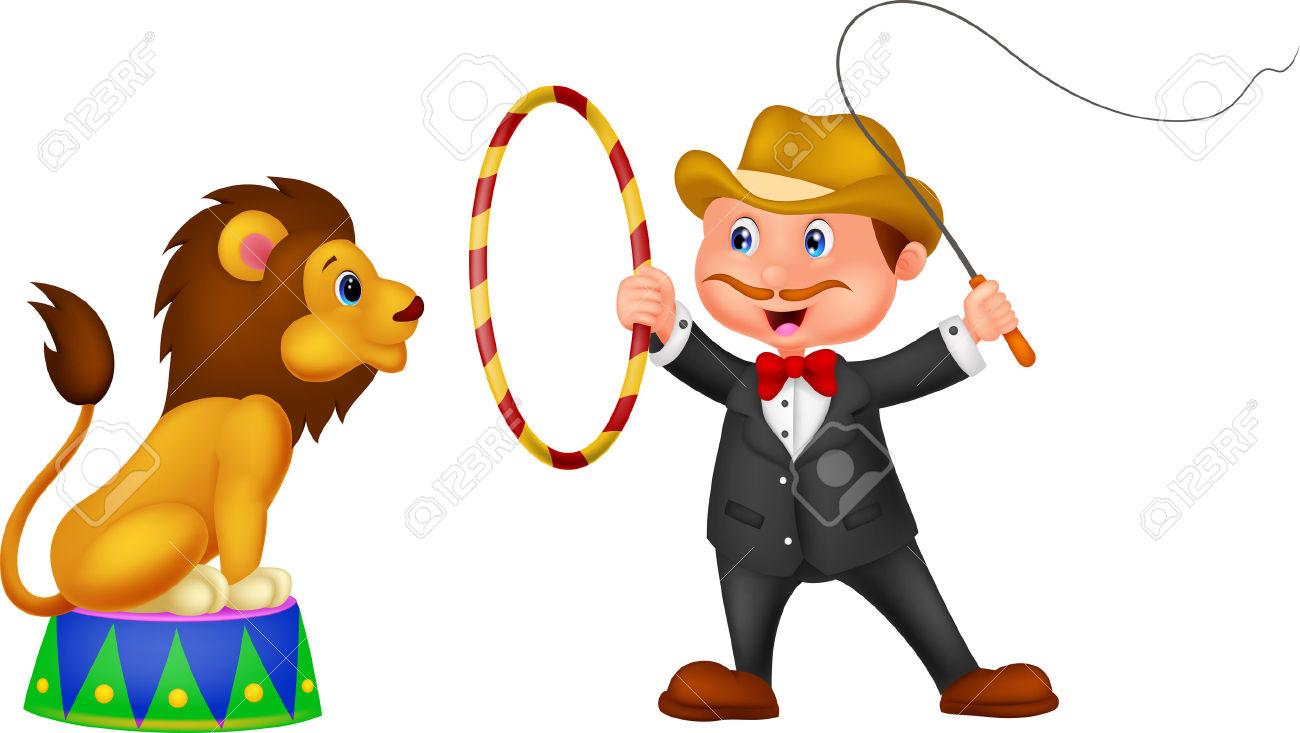 1300x733 Circus Clipart Lion Tamer