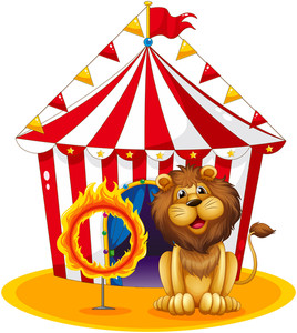 268x300 Illustration Of A Circus Tent