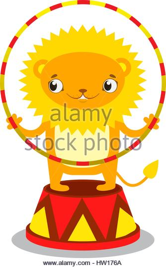 334x540 Lion Circus Cartoon Stock Photos Amp Lion Circus Cartoon Stock