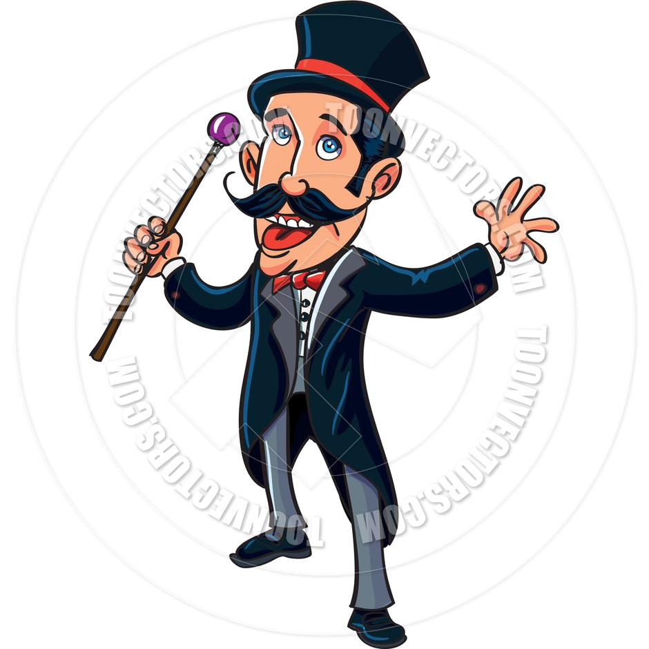 940x940 Cartoon Circus Ringmaster By Antonbrand Toon Vectors Eps