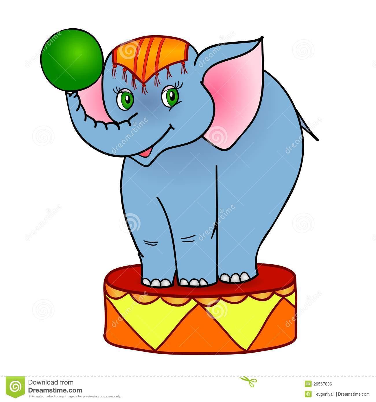 1300x1390 Circus Elephant Clipart
